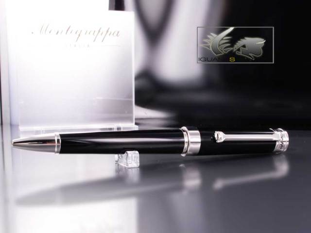 Montegrappa Parola Ballpoint Pen in Black Resin ISWOTBAB