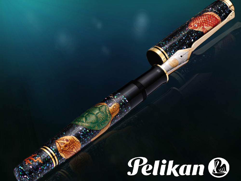 Pelikan-Fountain-Pen-Maki-e-Sea-World-Limited-Ed.-M1000-973321-1