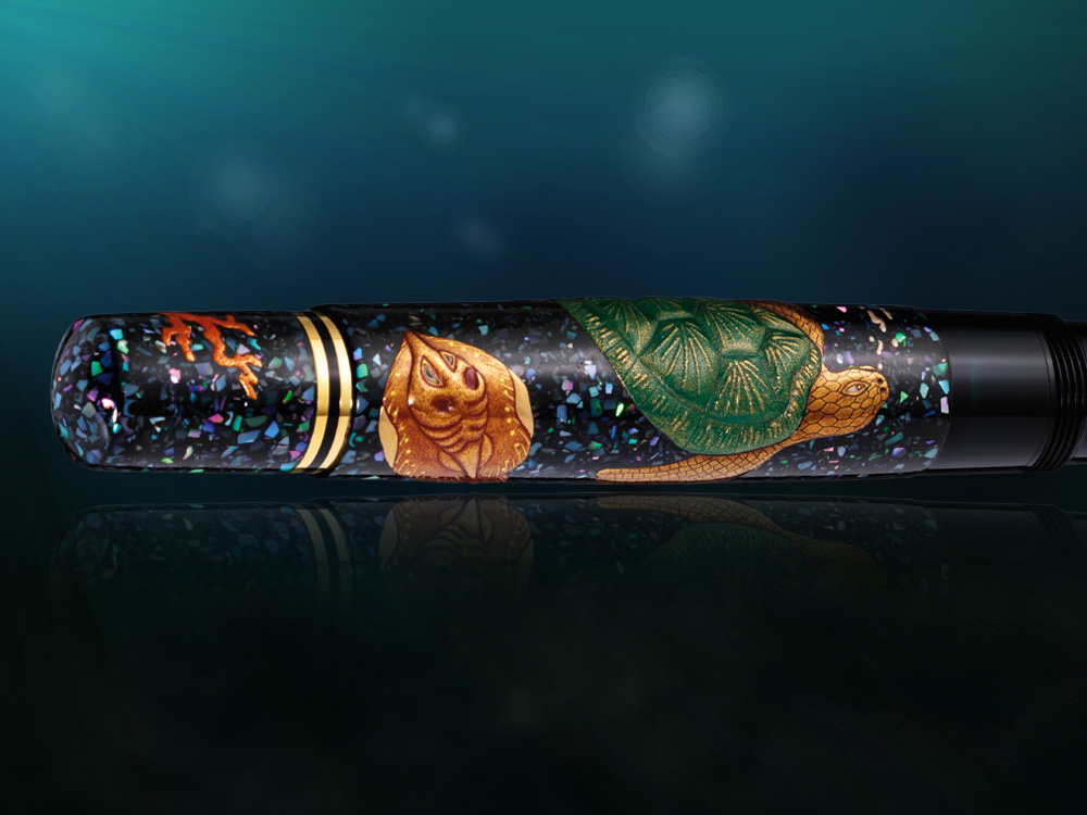 Pelikan-Fountain-Pen-Maki-e-Sea-World-Limited-Ed.-M1000-973321-3