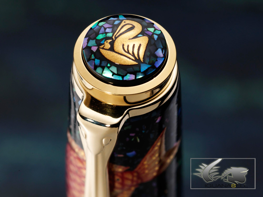 Pelikan-Fountain-Pen-Maki-e-Sea-World-Limited-Ed.-M1000-973321-4