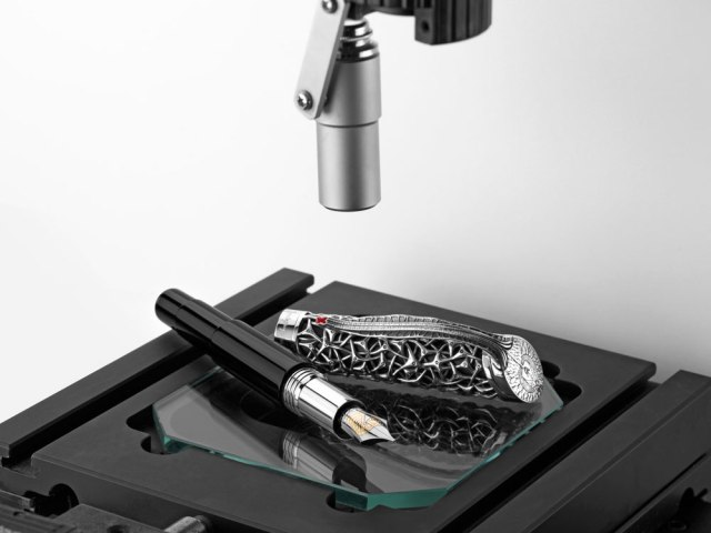 Montegrappa Brain Fountain Pen - Limited Edition - ISBNN3SE