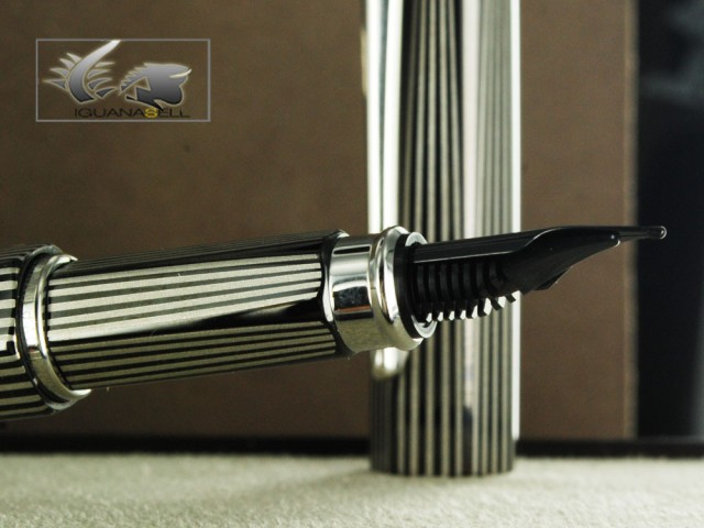 Caran d'Ache RNX 316 Black Fountain Pen - PVD - 4590.080