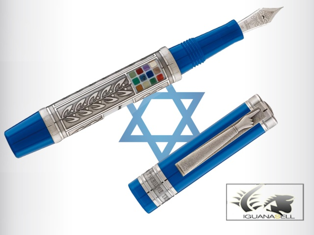 "Visconti Fountain Pen ""Twelve Tribes of Israel"" -Limited Edition 61625"