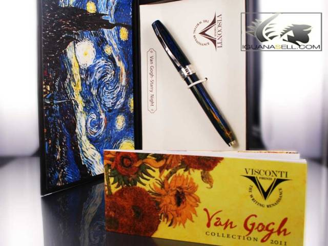 "Visconti Van Gogh Fountain Pen - ""Starry Night"" - 79618"