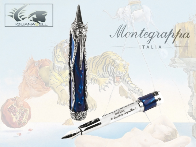 Montegrappa Fountain Pen Salvador Dali Limited Edition
