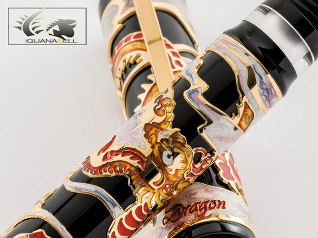 Visconti Dragon Fountian Pen - Limited Edition - 64802