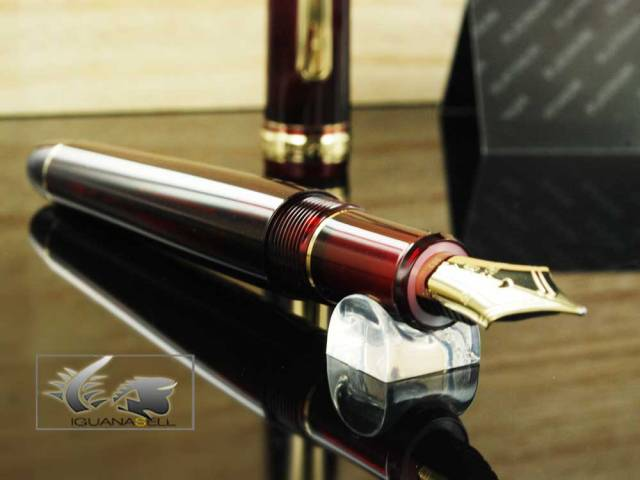 Platinum Century Burgundy Fountain Pen PNB10000-71