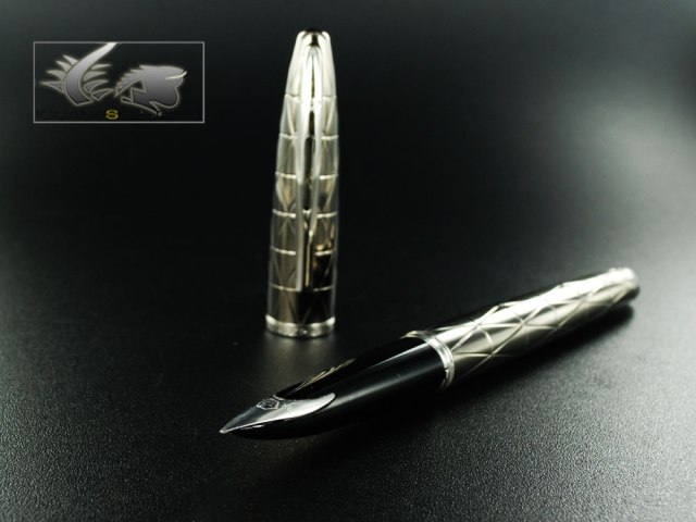 Waterman Carene Contemporary Gunmetal Fountain Pen - S0910010