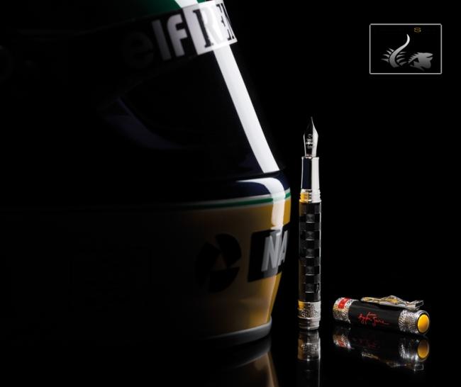 Ayrton Senna Montegrappa Fountain Pen