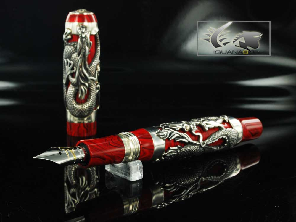 Montegrappa Bruce Lee Dragon Fountain Pen