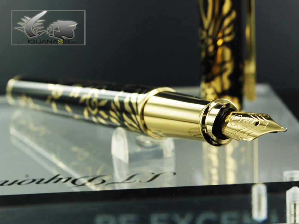 S.T. Dupont Neo-Classique Phoenix Fountain Pen, Limited Edition