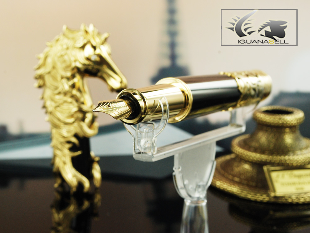 St Dupont Horse Prestige Fountain Pen Limited Edition
