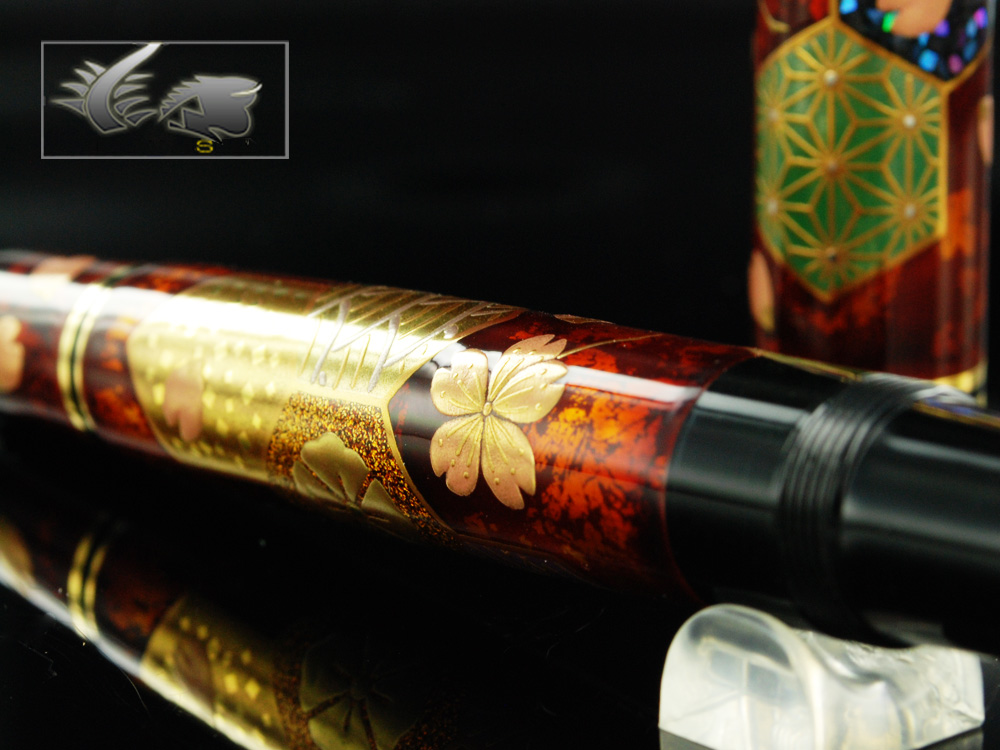 Pelikan Fantasia Maki-e Fountain Pen