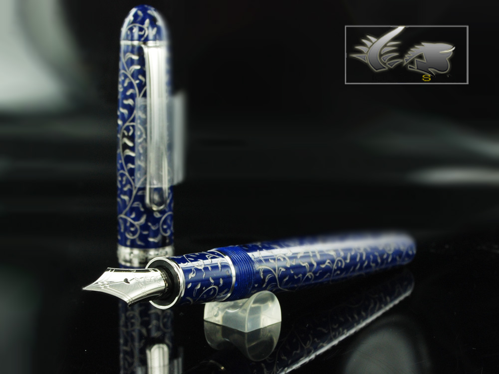 Platinum Celluloid Karakusa Fountain Pen