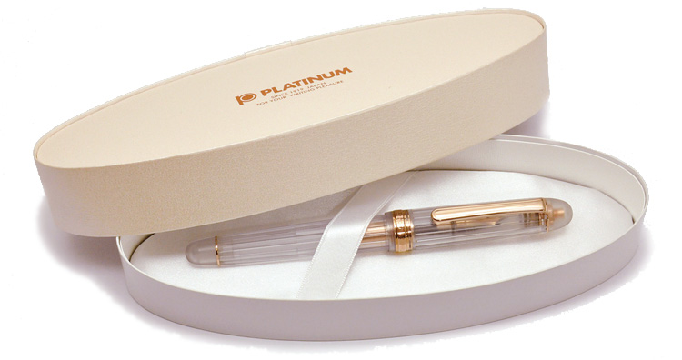 Platinum Century Nice Rose Gold Fountain Pen